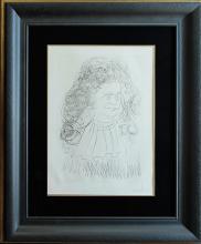 Salvador Dali Original Lithograph Fontaine Hand Signed