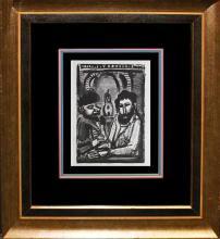 1932 George Roualt Lithograph from Vollard Portfolio