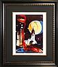 Salvador Dali Limited Edition lithograph-Manhattan Skyline