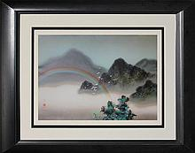 Misty Mountains- David Lee- Serigraph