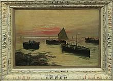 Vintage Original Oil on canvas by Gustavo Bardi