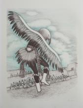 Alice Asmar-Ltd Edition- Eagle Dancer-Original