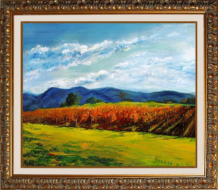 Country Vineyard  by Sylvia Adler Limited Edition