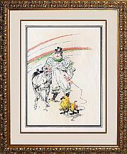 1899 Toulouse Lautrec Original 1899 Lithograph