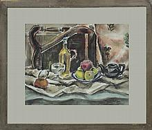 Original Watercolor Stillife by Meideth Ann Olson
