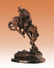 Frederic Remington Outlaw Bronze Sculpture