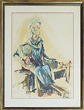 Dorothy Harkinson Original Woman with Baby