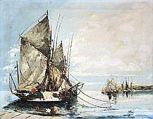 Vintage Original Watercolor