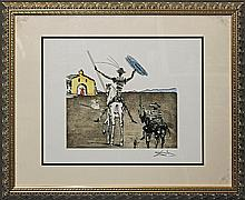 Salvador Dali Hand Signed Lithograph The Impossible