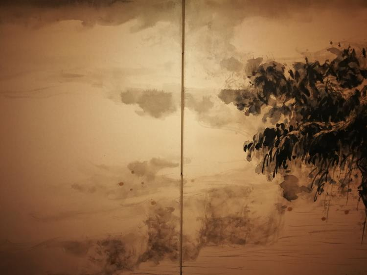Chinese Painting Calligraphy Panel Artist Signed