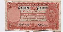 $10 Currency Australian Shillings