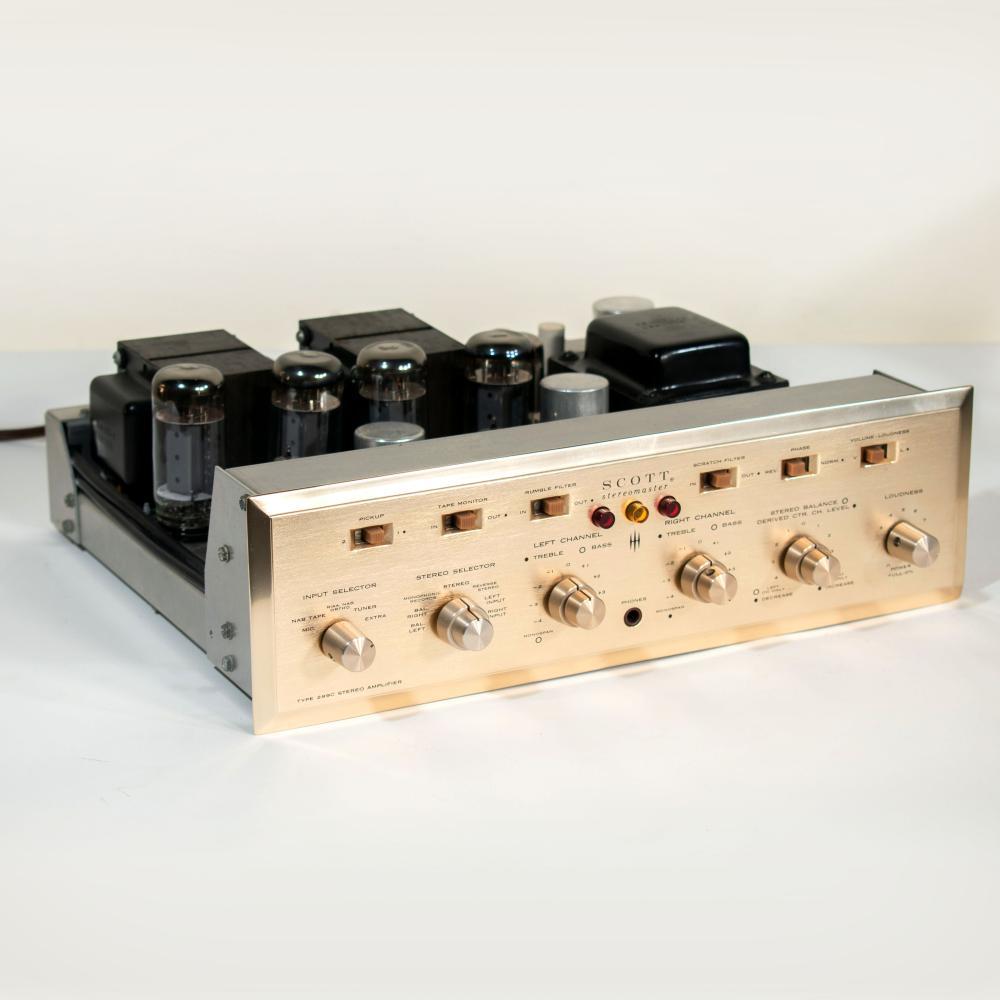 Scott Stereomaster Type 299C Stereo Amplifier