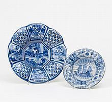 Buckelplatte mit Chinesen