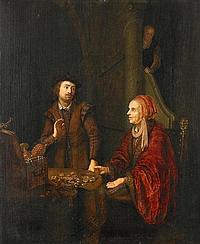 Pape, Abraham deLeiden 1620 - 1666 - Nachfolge