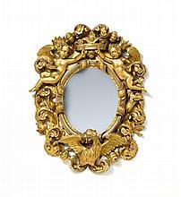 Kleiner Spiegel Stil Barock