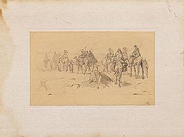 Rugendas, Johann Moritz 1802 Augsburg - 1858 Weilheim Karawane