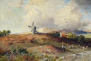 Köster, Paul 1855 Bremen - 1946 Düsseldorf Holländische Landschaft