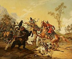 Grashof, Otto 1812 Prenzlau - 1876 Cologne Battle