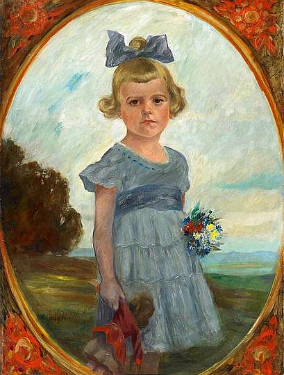 MatarÉ, JosefAachen 1880 - 1966Mädchen mit Puppe
