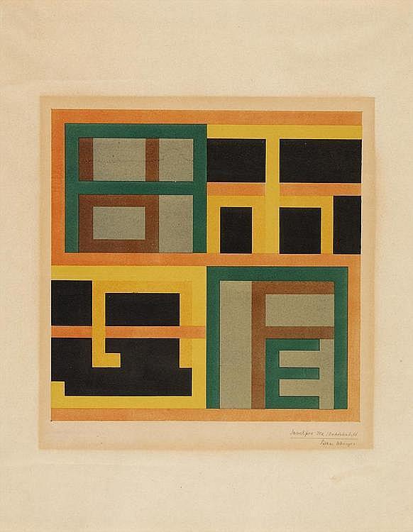 Schreyer, Lothar  1886 Dresden - 1966 Hamburg    Sanctifica me.