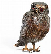 BERGMANN, FRANZ - 1836 Gablonz - 1894 Vienna - Minerva's Owl.