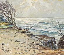 PERFALL, ERICH FREIHERR VON - Düsseldorf 1882 - 1961 - Baltic Coast.