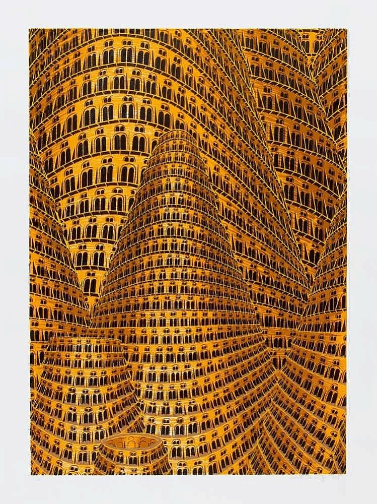 BEY, ANNETTE VON DER 1965 Remscheid Turmbau zu Babel II und III (