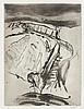 PFEUFFER, HELMUT Konvolut von 2 Arbeiten (Landschaft mit Wassergraben,, Helmut  Pfeuffer, Click for value