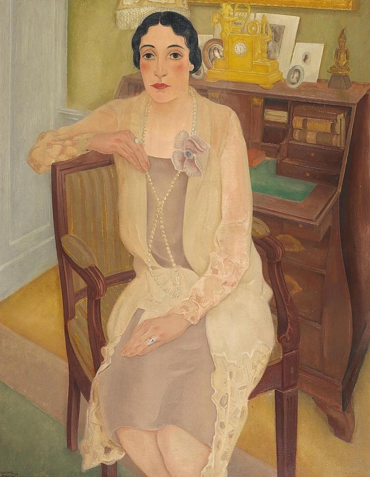 Meurs, Harmen Hermanus 1891 Wageningen - 1964 Ermelo  Portrait of a Lady (S.
