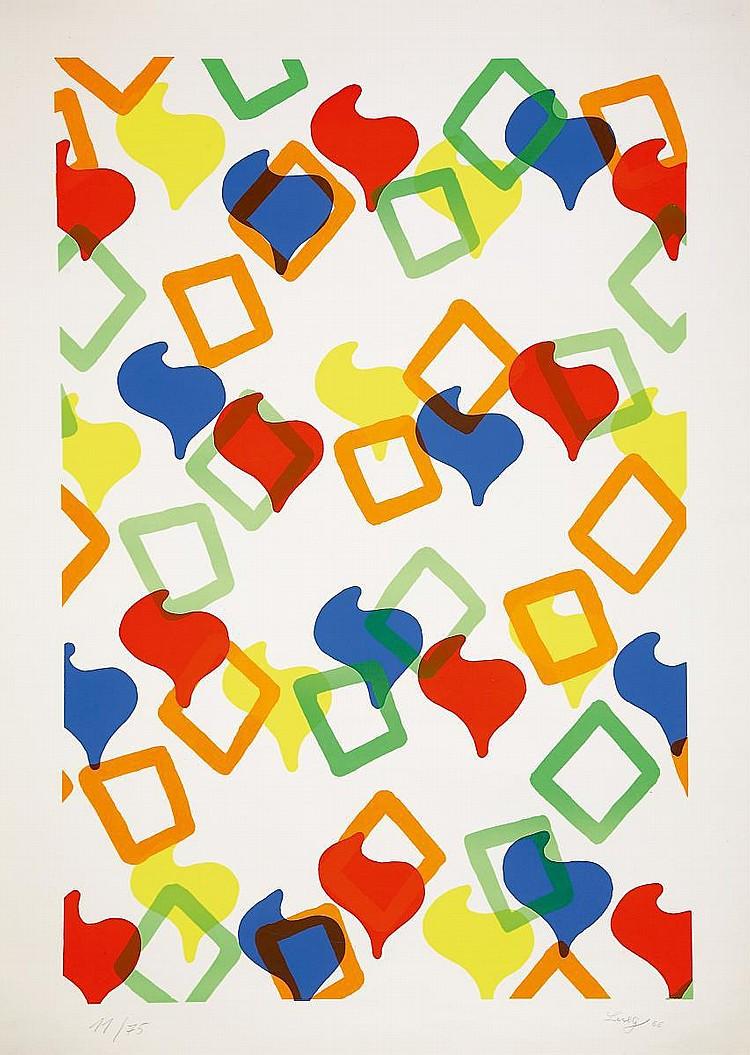 Lueg, Konrad (Konrad Fischer) Düsseldorf 1939 - 1996  Tapestry.