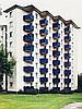 BECKER, BORIS 1961 Köln - lebt und arbeitet in Köln Wohnhäuser. 1993. 8 C-Prints auf Kodak-Professional-Papier. In originalem Schuber. Jeweils 30,4 x 40,5 bzw. 40,5 x 30,4cm Jeweils signiert, betitelt, datiert und nummeriert mit blauer Tinte, Boris Becker, Click for value