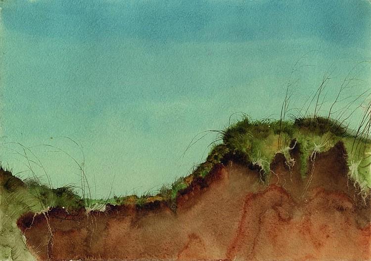 Lenk, Franz 1898 Langenbernsdorf - 1968 Fellbach  Dune landscape.
