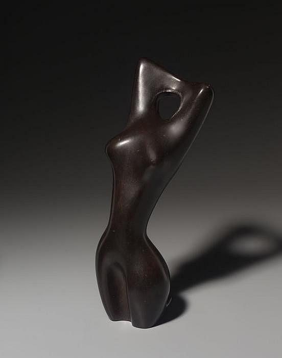 Heiliger, Bernhard 1915 Stettin - 1995  Figur mit erhobenen Armen I (Kleiner Torso/Torso mit erhobenen Armen).