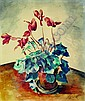 Kanoldt, Alexander 1881 Karlsruhe - 1939 Berlin  Cyclamen., Alexander Kanoldt, Click for value