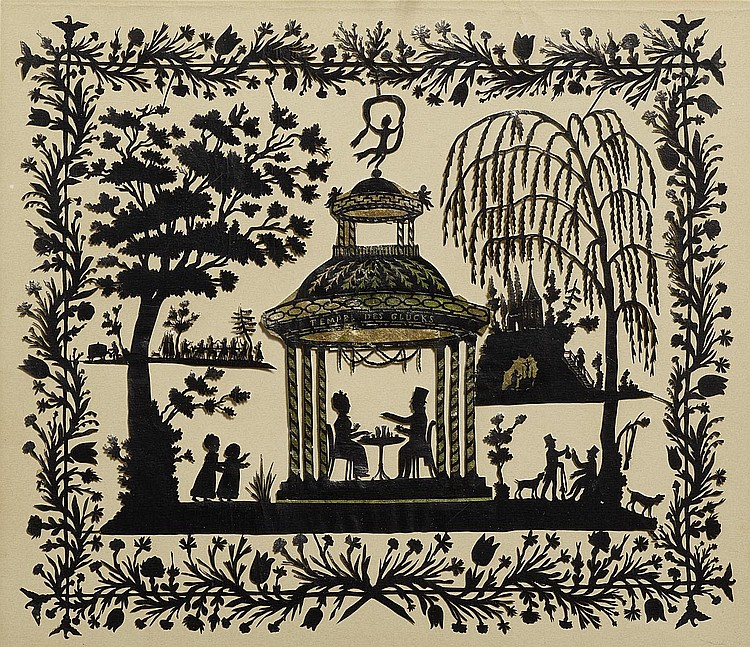 Runge, Philipp Otto1777 Wolgast - 1810 Hamburg Der Tempel des Glücks.