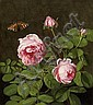 Ottesen, Otto Diederich1816 Broager/South-Jutland - 1892 Copenhagen Still life with roses., Otto Diderich Ottesen, Click for value