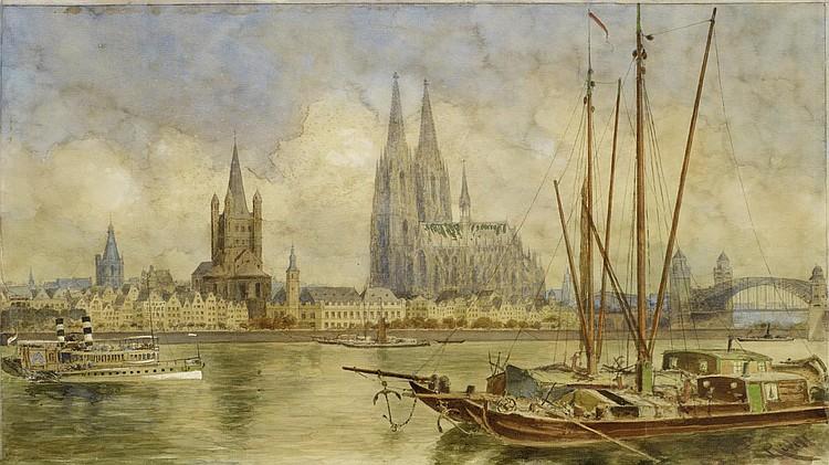 Rüdell, Carl1855 Trier - 1939 Cologne Cologne.
