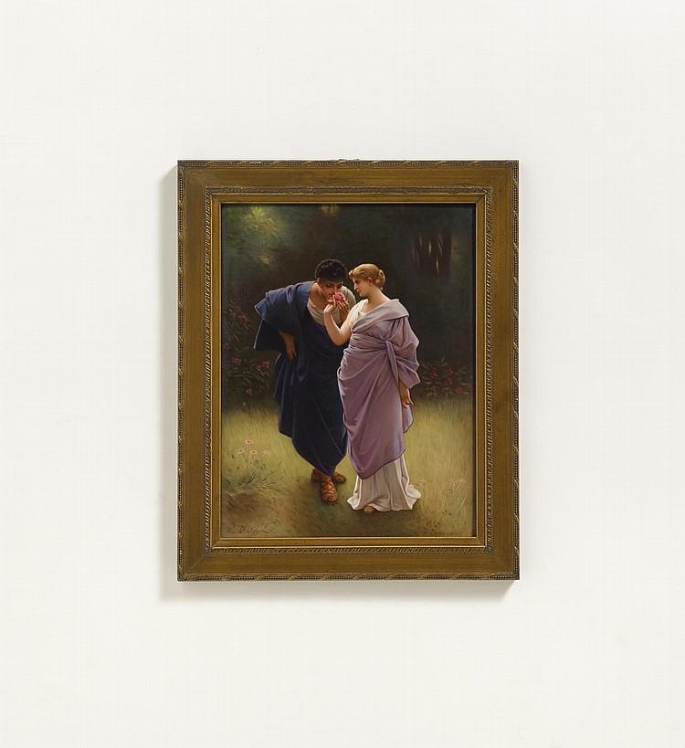 Plaque 'Liebesfrühling'.