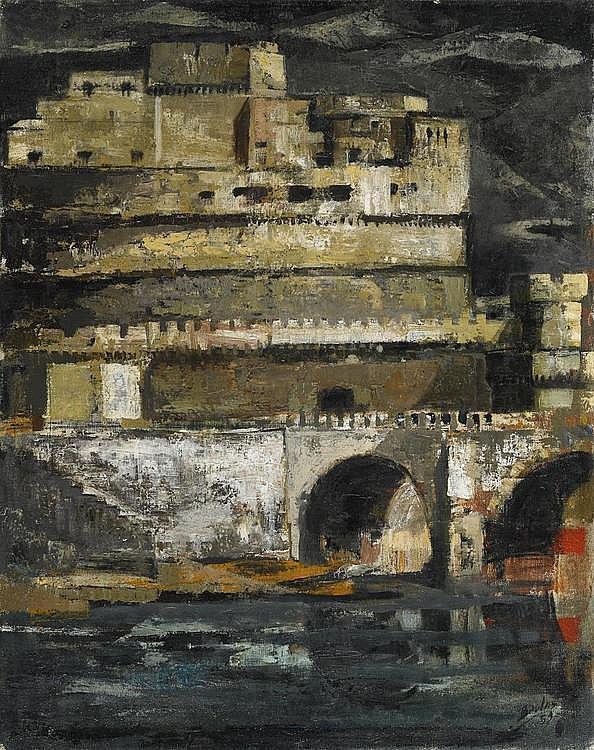 Beulas Recasens, José  1921 Santa Coloma de Farnés/Girona    Castel Sant'Angelo - Roma.