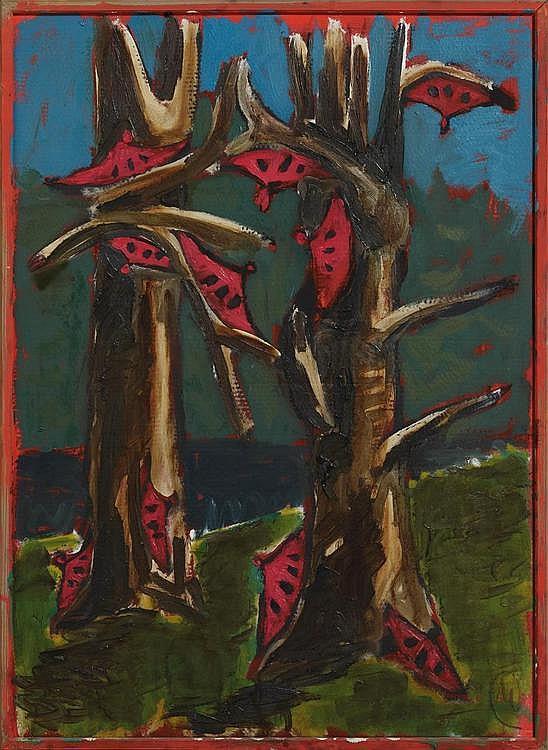 üpertz, Markus  1941 Liberec (Bohemia)    Serie über Courbet Nr.