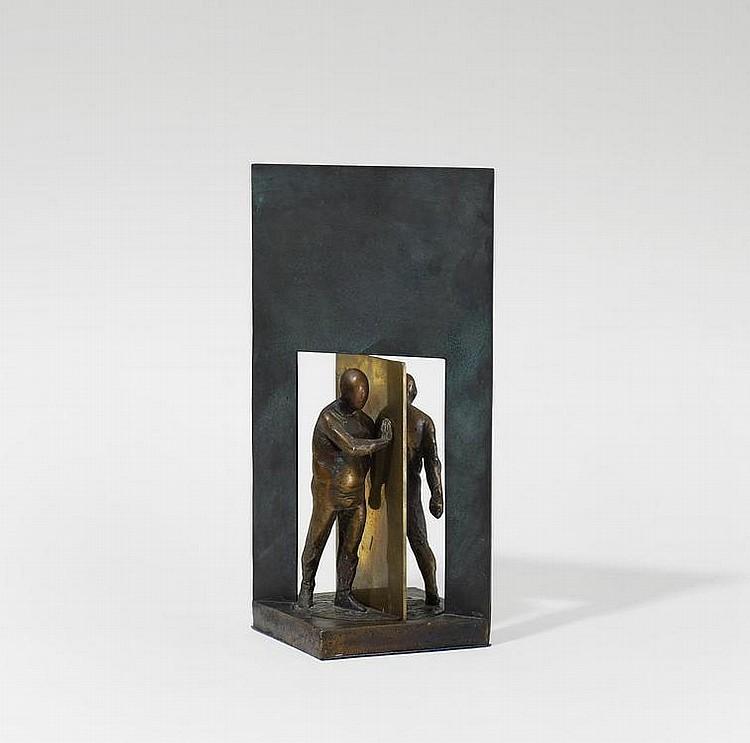 Otto, Waldemar  1929 Petrikau (Poland)    Mann in revolving doors.