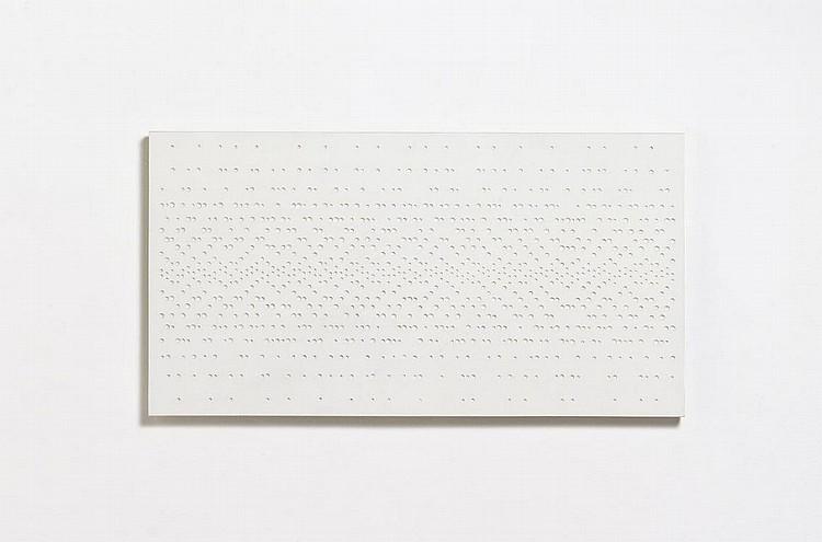 Graevenitz, Gerhard von  1934 Schilde - 1983 Switzerland    White Structure.