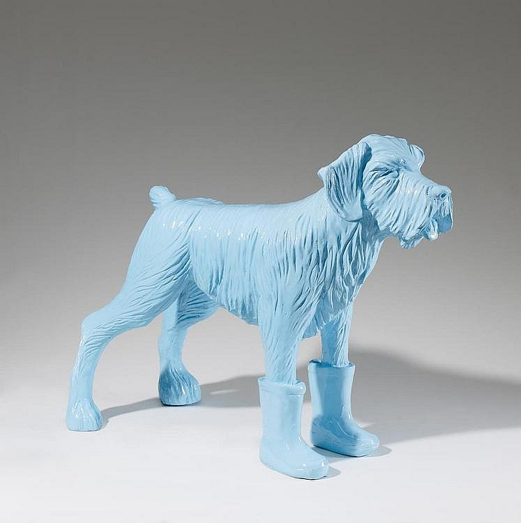 Sweetlove, William  1949 Ostend    Cloned blue Schnauser.