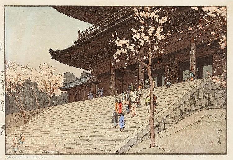 YOSHIDA, HIROSHI  1676 - 1950  Shôwa-Zeit.