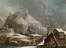 Francesco Foschi: Winter Landscape