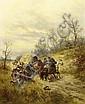 Gedlek, Ludwig1847 Cracow - 1904 Vienna  The raid., Ludwig Gedlek, Click for value