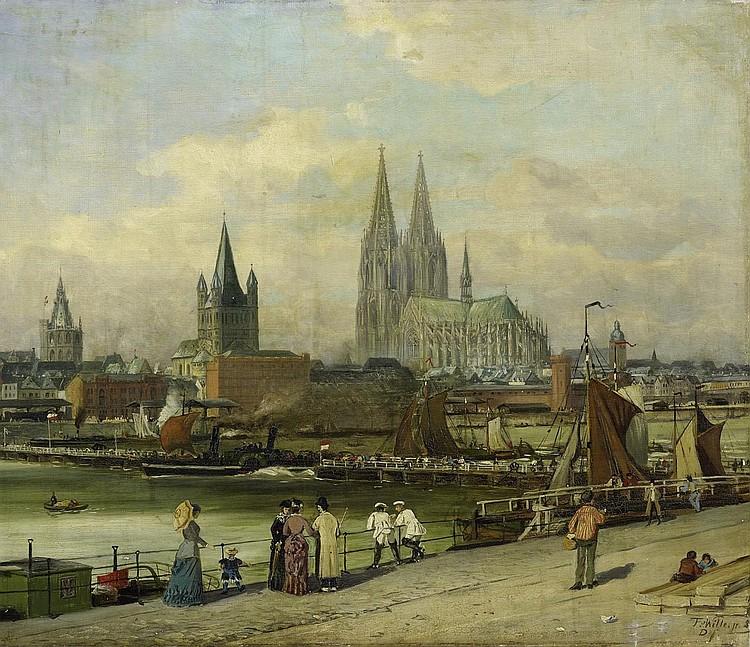 Wille, Fritz von1860 Weimar - 1941 Düsseldorf  Cologne.