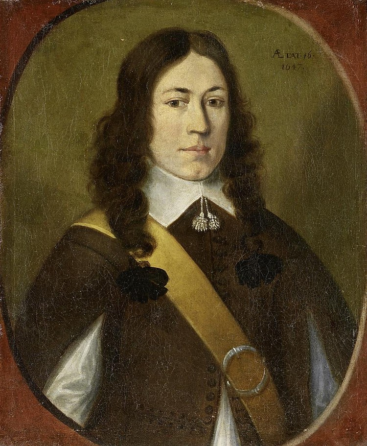 Westerbaen, Jan Jansz.The Hague around 1600 - 1686 - attributed  Portrait of a young gentleman.