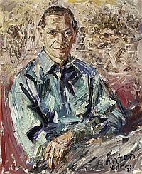 Räderscheidt, AntonCologne 1892 - 1970 Porträt Walter Dick.