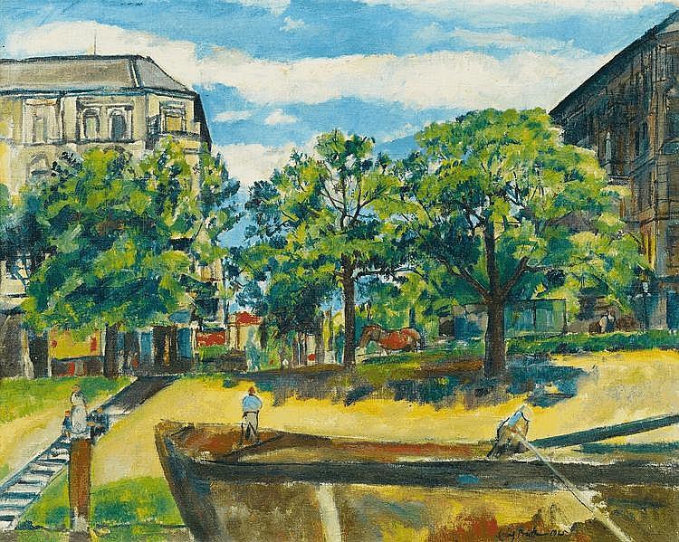Büttner, Erich 1889 Berlin - 1936 Freiburg im